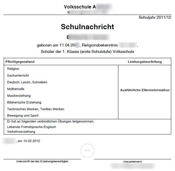 Zeugnis anlegen - SchulleiterInnen-Service - Wiki